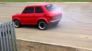 Fiat 126 Maluch (with Chevy V8 power)