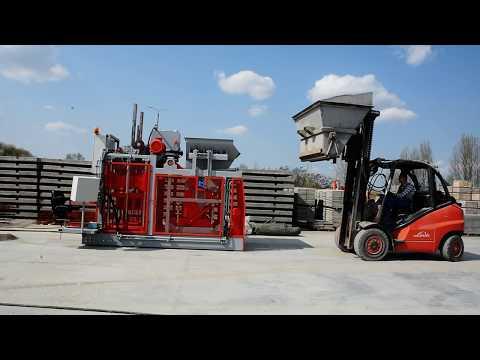 Multi 300 Mobile Block Machine / Krocząca Wibroprasa Multi 300 - zdjęcie