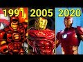 Evolution Of Iron Man In Games 1991 2020