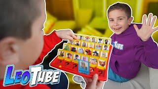 Quien es LeoTube? juego de mesa Casero