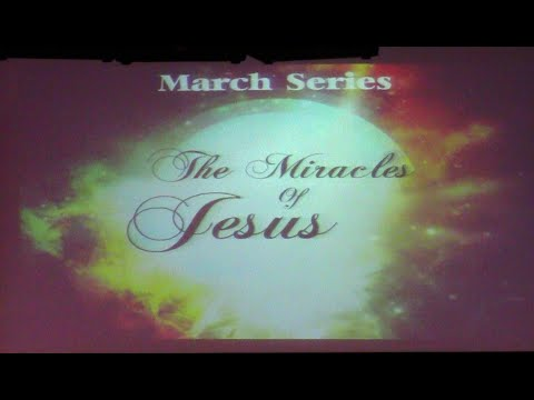 """""""The Miracles of Jesus"""" Pt 2  Miracle of the Great Catch by Pastor Randy Vanesian"""