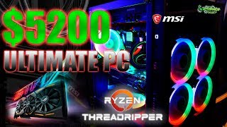 ПК за 300 000 на базе AMD Threadripper 1950X msi x399