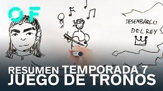 RESUMEN TEMPORADA 7 DE JUEGO DE TRONOS EN 7 MINUTOS | DRAW MY LIFE GoT | ESPINOF