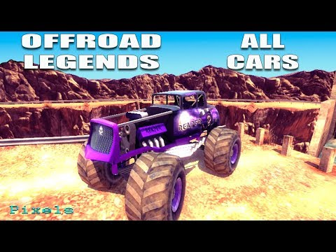 Offroad Legends - All Cars Unlocked