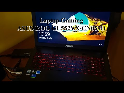 Laptop Gaming ASUS ROG GL552VX CN059D