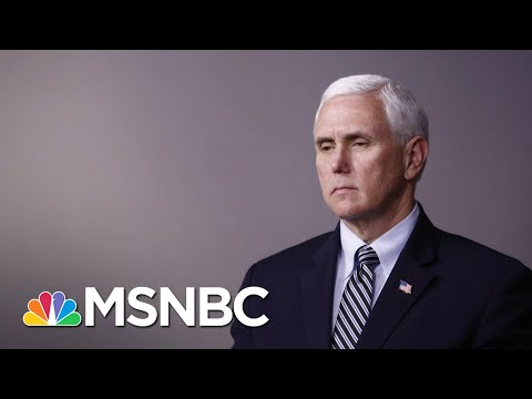 Pence Backs Trump's Big Lie After Capitol Rioters Tried To kill Him | The 11th Hour | MSNBC