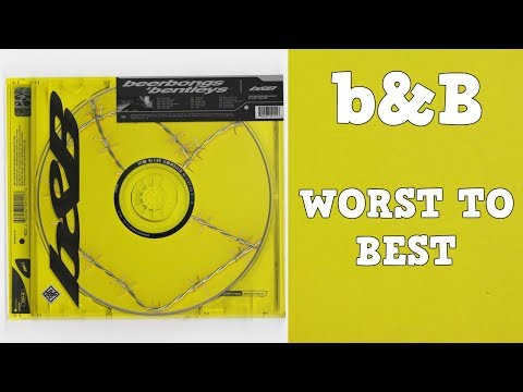 From Worst To Best: 'beerbongs & bentleys' by Post Malone (Tracklist Ranked)