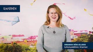 Strateginen työkyvyn johtaminen, Annamari Mäki-Ullakko, työkykypäällikkö, Ilmarinen