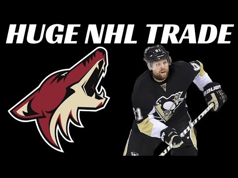 HUGE NHL TRADE - Pens Trade Kessel to Arizona
