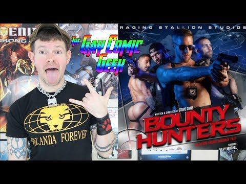 Bounty Hunters - Raging Stallion CUT Safe For Work Gay XXX Movie Review