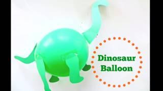 DINOSAUR BIRTHDAY BALLOON  DECORATION
