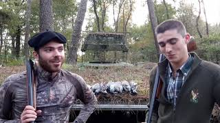 Témoignage séjour de chasse en palombière