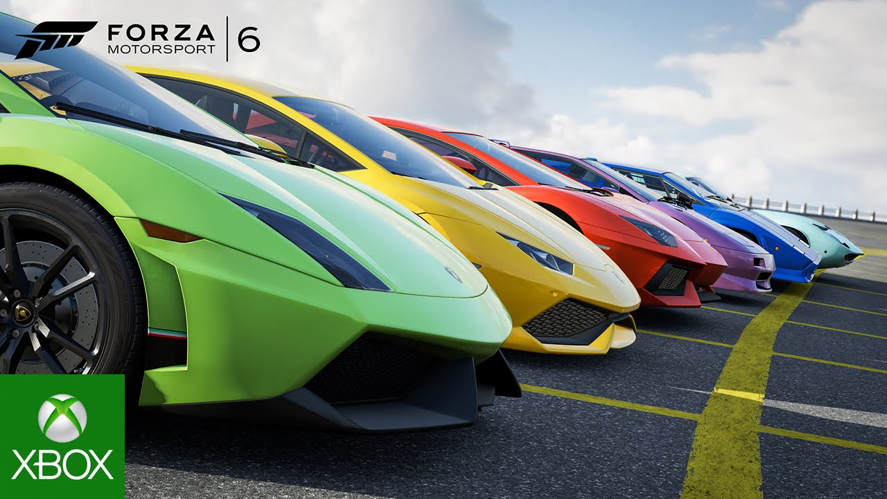 Video forXbox and Lamborghini Partner for the Next Chapter of Forza