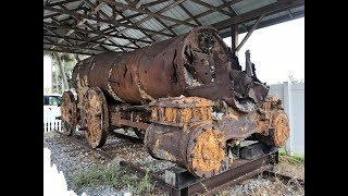 Steam Train Adventures #21: Unearthed 1800's Manchester 4-4-0 locomotive in Mulberry, FL