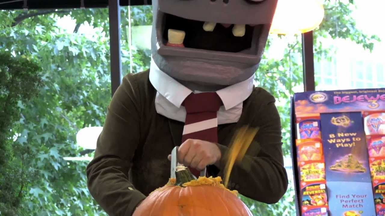 Zombies Don't Understand Pumpkin Carving, But They Dance