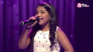 Shreya Basu - Ek Pyar Ka Nagma Hai - Liveshows - Episode 23 - The Voice India Kids