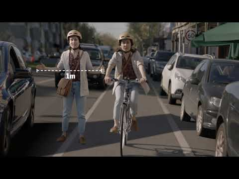 Give cyclist the space to ride safely