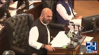 PTI Government Presents Budget in KPK Assembly