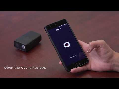 How to: Connecting to CycliqPlus Mobile App