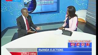 Worldview studio interview with Rwanda ambassador to Kenya James Kimonyo on the Rwanda elections