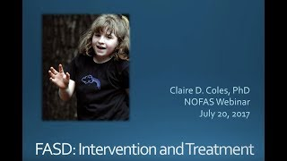 NOFAS Webinar: FASD Intervention and Treatment