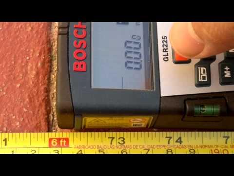 Medidor de Distancia Laser Bosch GLR-225