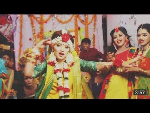 Teri Aakhya Ka Yo Kajal   shammir Holud Dance Performance 2019   %C2%A9 Wedding Love   Bangladesh720