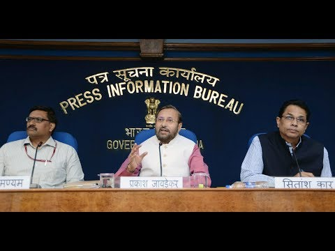 Press Conference by Union Minister Prakash Javadekar on issues related to Higher Education