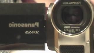 Panasonic sdr-h81 camcorder repair youtube.