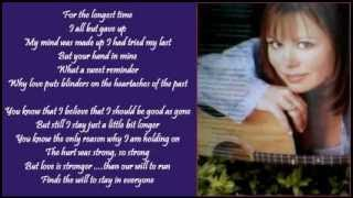 Suzy Bogguss - Love Is Stronger ( + lyrics 1999)