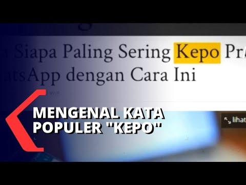 selasa bahasa mengenal kata populer kepo
