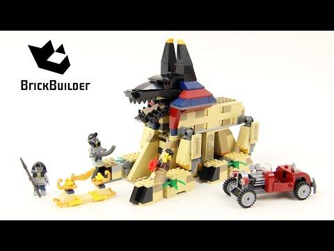 Vidéo LEGO Pharaoh's Quest 7326 : Le réveil du Sphinx