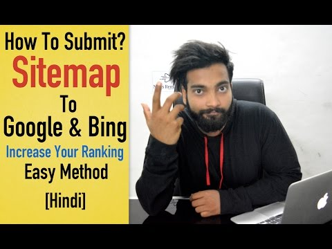 How to Generate and Submit Sitemap to Google & Bing [Hindi]