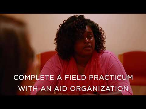 MA in Humanitarian Assistance & Crisis Management