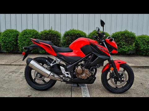 2017 Honda CB300F in Shelby Township, Michigan