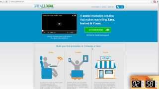 Great Local - Get Started in 3 Minutes