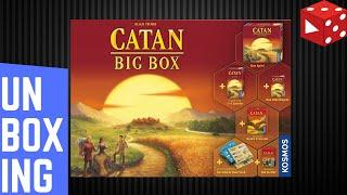 Unboxing: Catan Big Box (Kosmos 2019)