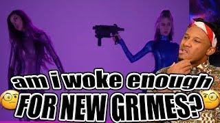 GRIMES - WE APPRECIATE POWER LYRIC VIDEO REACTION   @Shellitronnn