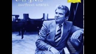Emil Gilels   Beethoven Sonata No 14 Moonlight