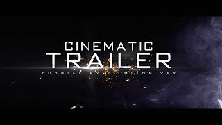 Cinematic Trailer Intro Template #245 Sony Vegas Pro