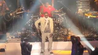 Usher - Aaron Spears -  Caught Up Live London 2010
