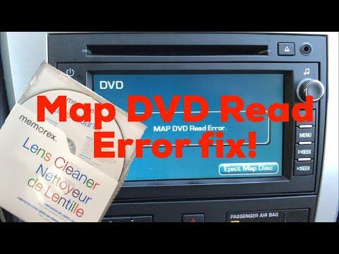 please insert correct map disc nddn w57