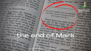 The end of Mark. (Mark 16:9-16)