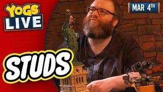 LEGO STUDS STATUE OF LIBERTY & WALL-E BUILD w/ Simon & Turps! - 04/03/19