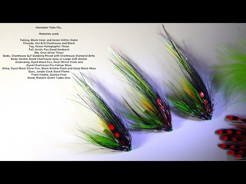 Tying The Heineken Salmon/Steelhead Fly by Davie McPhail