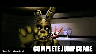 SFM| Five Nights at Freddy's 3| Springtrap Complete Jumpscare