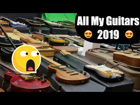 How Many Guitars Does Trogly Own? | My Year End Guitar Collection 2019