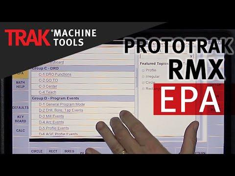 EPA [Enhanced ProtoTRAK Assistance] | ProtoTRAK RMX CNC | Basic Mill Programming