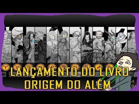LANÇAMENTO DO LIVRO ORIGEM DO ALÉM!