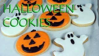 Decorated Halloween Cookies || Gretchens Vegan Bakery